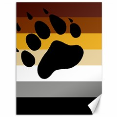 Bear Pride Flag Canvas 36  X 48