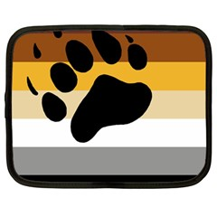 Bear Pride Flag Netbook Case (large)