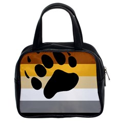 Bear Pride Flag Classic Handbags (2 Sides)