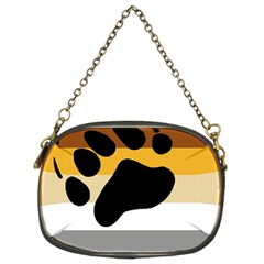 Bear Pride Flag Chain Purses (two Sides)