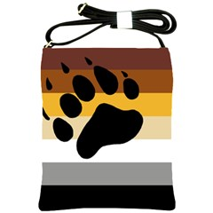 Bear Pride Flag Shoulder Sling Bags