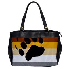 Bear Pride Flag Office Handbags