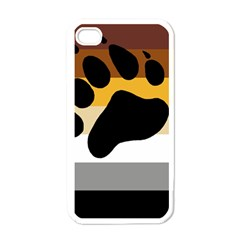 Bear Pride Flag Apple Iphone 4 Case (white)