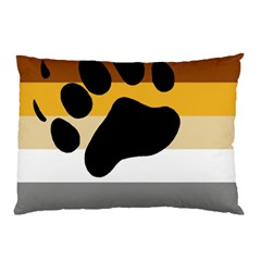 Bear Pride Flag Pillow Case (two Sides)