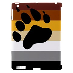 Bear Pride Flag Apple Ipad 3/4 Hardshell Case (compatible With Smart Cover)