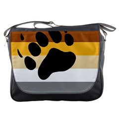 Bear Pride Flag Messenger Bags