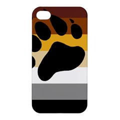 Bear Pride Flag Apple Iphone 4/4s Premium Hardshell Case
