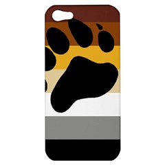 Bear Pride Flag Apple Iphone 5 Hardshell Case