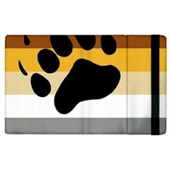 Bear Pride Flag Apple Ipad 3/4 Flip Case