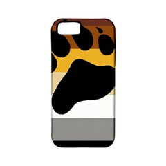 Bear Pride Flag Apple Iphone 5 Classic Hardshell Case (pc+silicone)