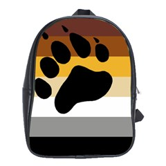 Bear Pride Flag School Bag (xl)