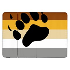 Bear Pride Flag Samsung Galaxy Tab 8 9  P7300 Flip Case