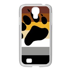 Bear Pride Flag Samsung Galaxy S4 I9500/ I9505 Case (white)