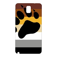 Bear Pride Flag Samsung Galaxy Note 3 N9005 Hardshell Back Case