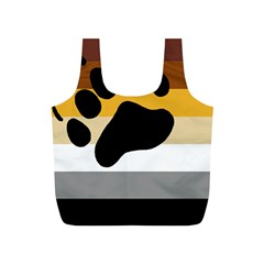 Bear Pride Flag Full Print Recycle Bags (s)