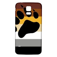 Bear Pride Flag Samsung Galaxy S5 Back Case (white)