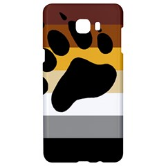Bear Pride Flag Samsung C9 Pro Hardshell Case