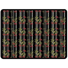 Bamboo Pattern Fleece Blanket (large)