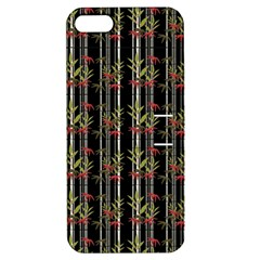 Bamboo Pattern Apple Iphone 5 Hardshell Case With Stand