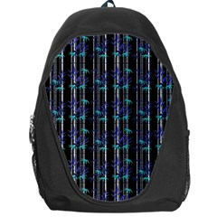 Bamboo Pattern Backpack Bag