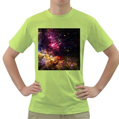 Space Colors Green T Shirt
