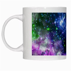 Space Colors White Mugs