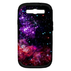 Space Colors Samsung Galaxy S Iii Hardshell Case (pc+silicone)