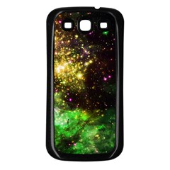 Space Colors Samsung Galaxy S3 Back Case (black)