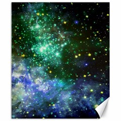 Space Colors Canvas 8  X 10
