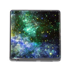 Space Colors Memory Card Reader (square)