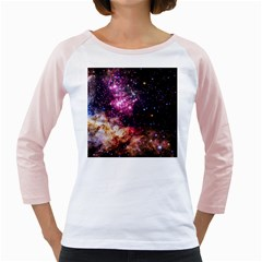 Space Colors Girly Raglans