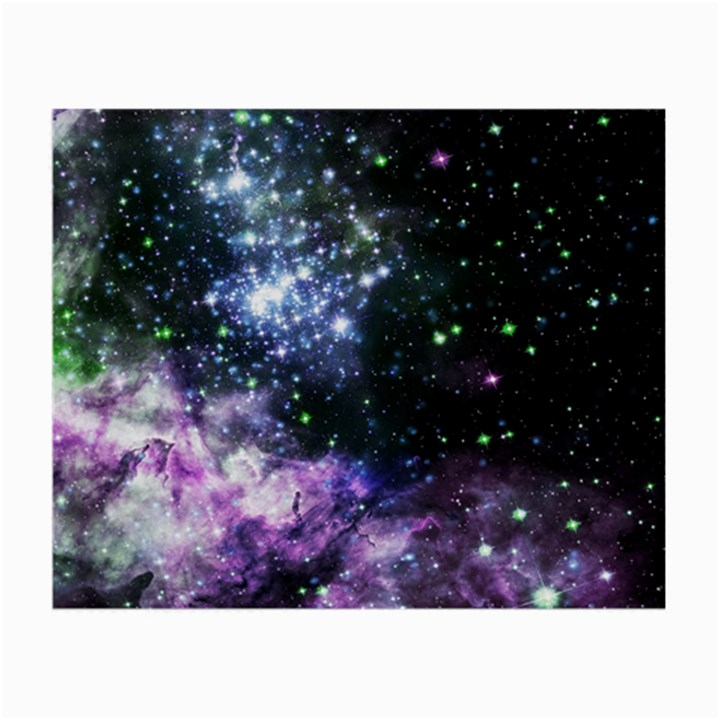 Space colors Small Glasses Cloth (2-Side)