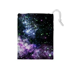 Space Colors Drawstring Pouches (medium)