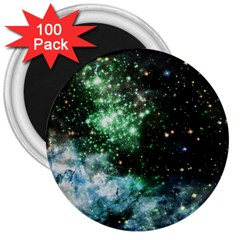 Space Colors 3  Magnets (100 Pack)