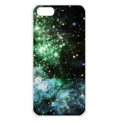 Space Colors Apple Iphone 5 Seamless Case (white)