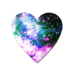 Space Colors Heart Magnet