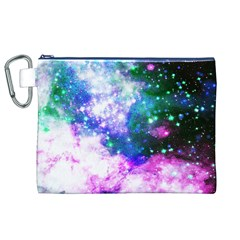 Space Colors Canvas Cosmetic Bag (xl)