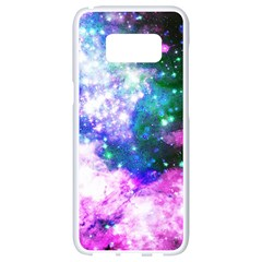 Space Colors Samsung Galaxy S8 White Seamless Case