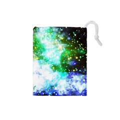 Space Colors Drawstring Pouches (small)