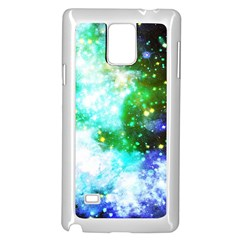 Space Colors Samsung Galaxy Note 4 Case (white)