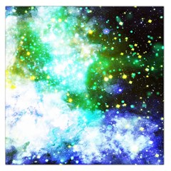 Space Colors Large Satin Scarf (square)
