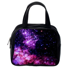 Space Colors Classic Handbags (one Side)