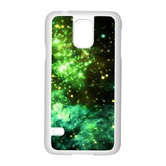Space Colors Samsung Galaxy S5 Case (white)