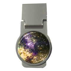 Space Colors Money Clips (round)