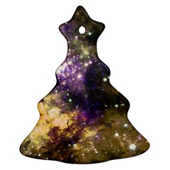 Space Colors Christmas Tree Ornament (two Sides)