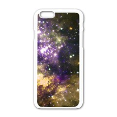 Space Colors Apple Iphone 6/6s White Enamel Case