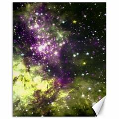 Space Colors Canvas 16  X 20