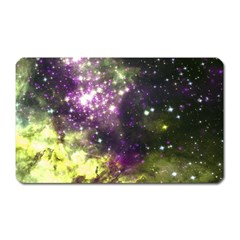 Space Colors Magnet (rectangular)