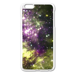 Space Colors Apple Iphone 6 Plus/6s Plus Enamel White Case