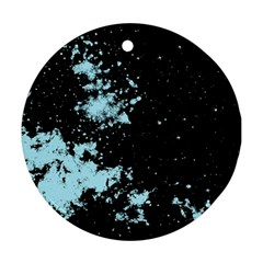 Space Colors Round Ornament (two Sides)